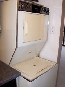 utilizing the washer