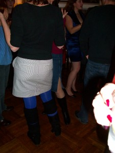 Knee Pad Girl. Photographic evidence of her existence.