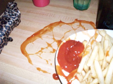 I even have culinary disasters in restaurants.